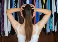 Woman in Closet